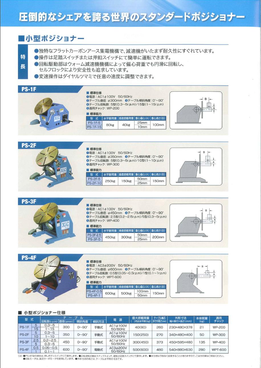 マツモト機械 ポジショナー